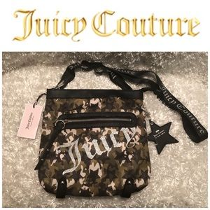 Juice Couture Camo Star Studded Crossbody Bag